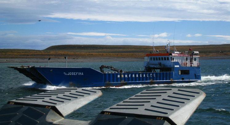 Ferry en Porvenir