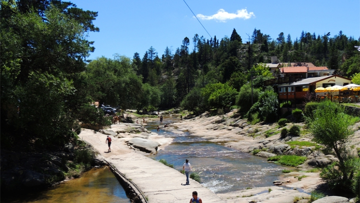Baño en La Cumbrecita