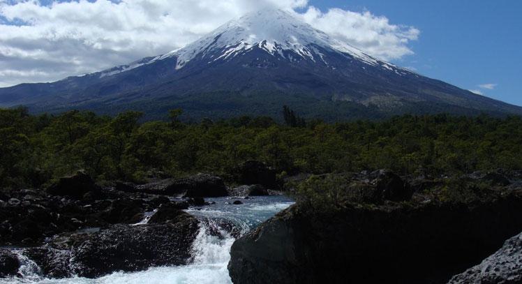 Petrohué en Volcán Osorno