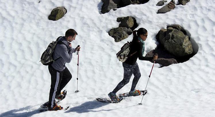 Caminata en Nieve