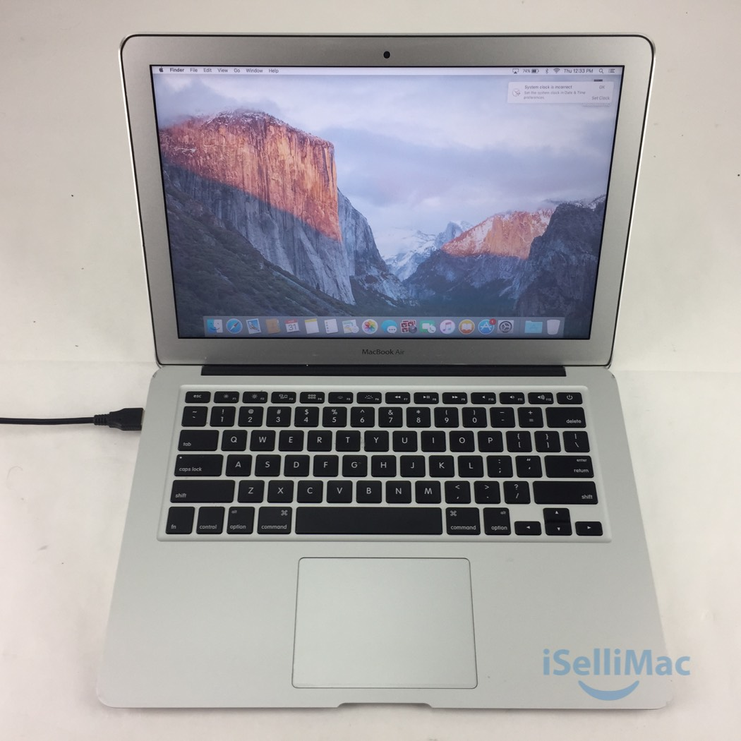 apple 2014 macbook air 13 1 4ghz core i5 256gb ssd 8gb md761ll b d grade ebay. Black Bedroom Furniture Sets. Home Design Ideas