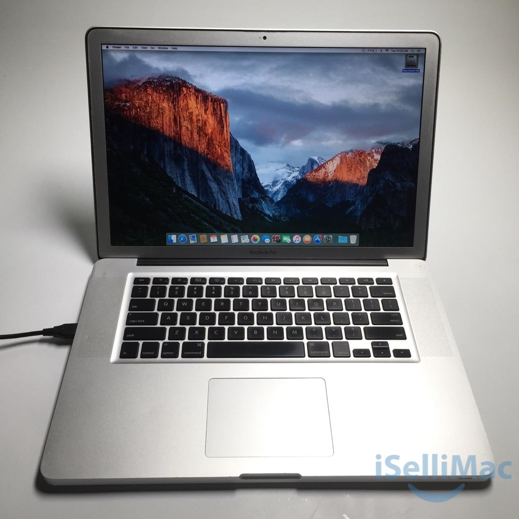 Details about Apple 2010 MacBook Pro 15