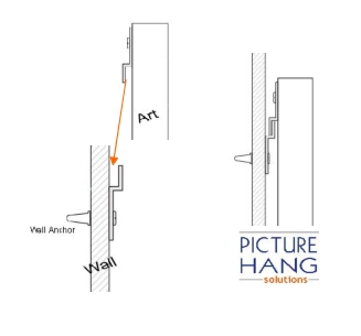 Metal Strip Tool Hanger