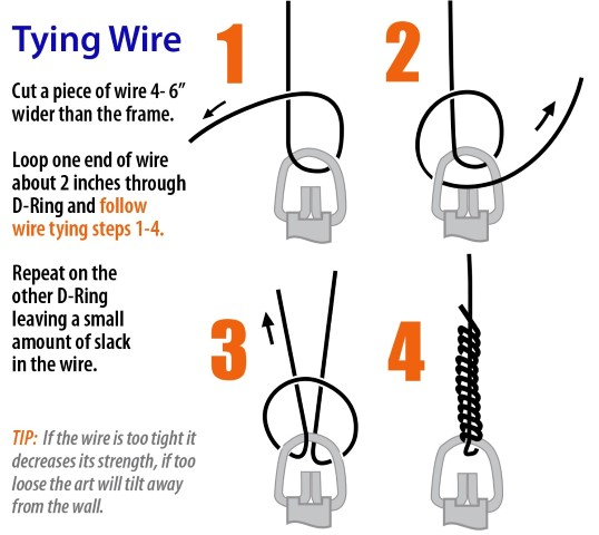 Picture Wire Picture Hanging Wire Picture Hang Solutions