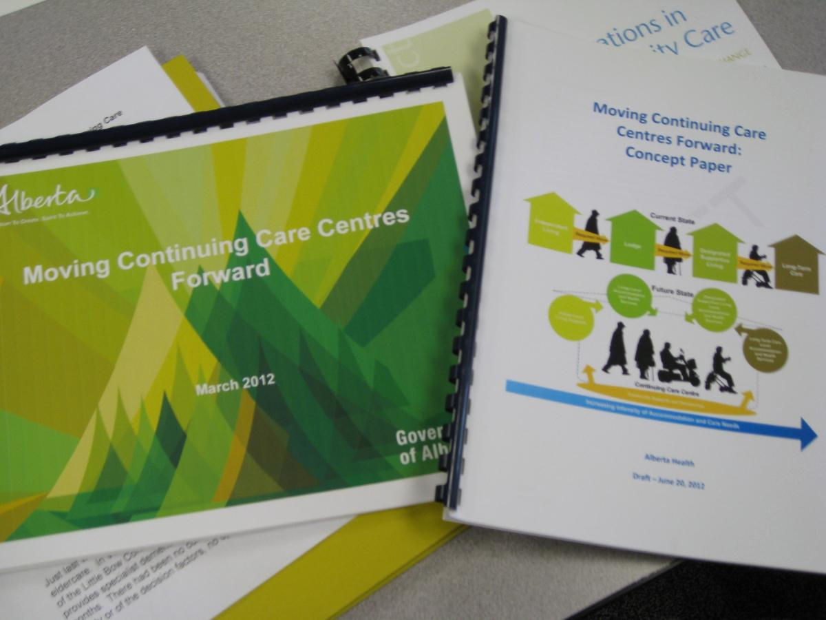 Continuing Care Concept Paper
