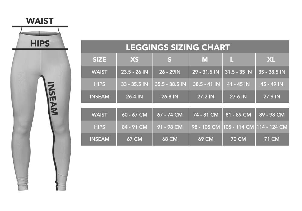 Legging Sizing