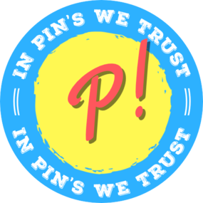 In pins we trust blue