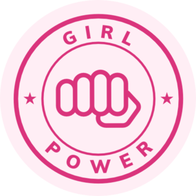 Girl power fist