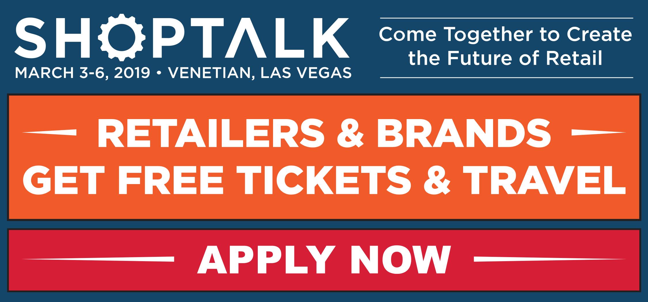 Shoptalk 2019 - Get Ticket Now