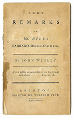 John Wesley Title Page