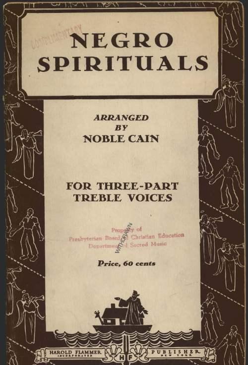 the book of american negro spirituals pdf