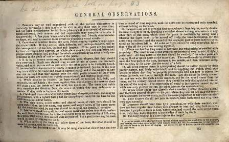 Sacred Harp 1850 General Observations 1