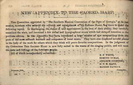 Preface to 1870 Appendix
