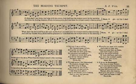 The Morning Trumpet by B. F. White