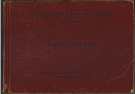 1936 Original Sacred Harp Cover