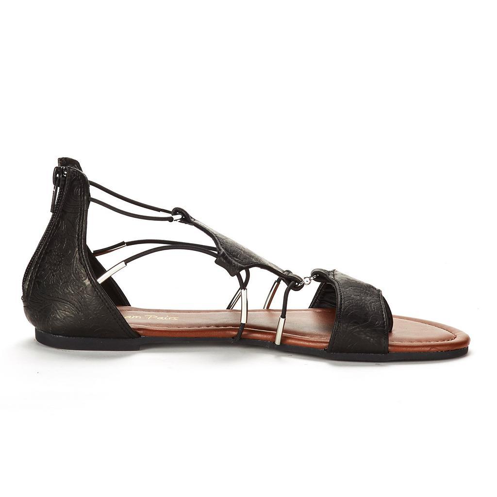416682985 DREAM PAIRS Women s Maxi Gladiator Flat Sandal
