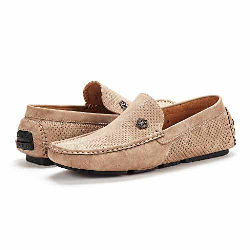 a906bf8e069 BRUNO MARC NEW YORK Mens Pitts Penny Loafers Moccasins Boat Shoes ...