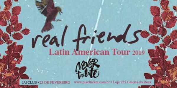 Real Friends em São Paulo