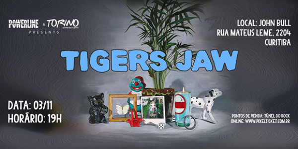 Tigers Jaw - Curitiba