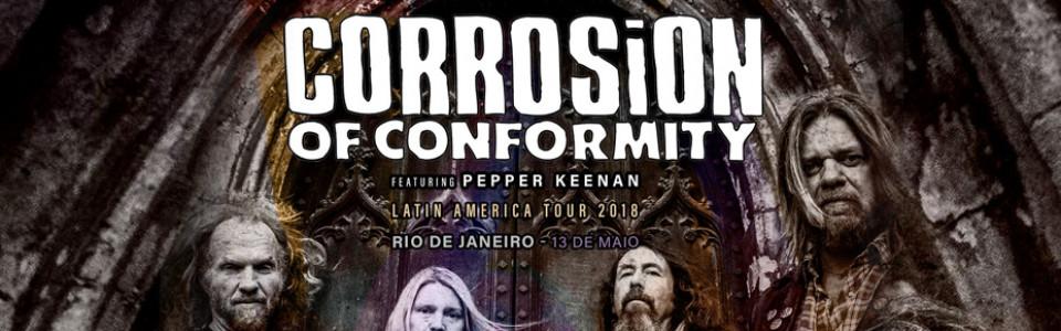 Corrosion of Conformity no Rio de Janeiro