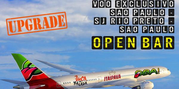 Carnaval Oba - Upgrade Aéreo Sexta-Feira (para quem fechou saída sexta feira) - Apenas hotéis Ipe ou Sakr