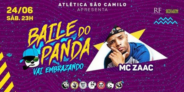 Baile do Panda 2017 | Vai Embrazando!
