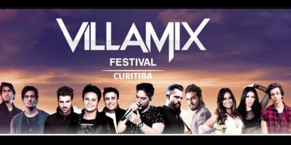 Villa Mix Festival Curitiba - Transporte Open Bar + Ingresso