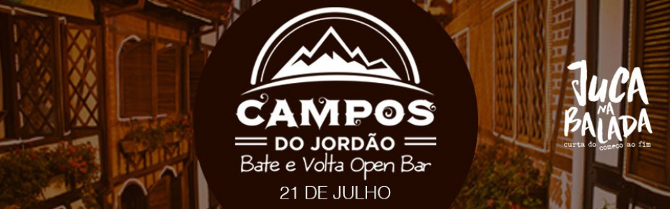 Campos do Jordão - Bate e Volta Open Bar