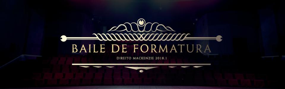 Baile de Formatura - Direito Mackenzie 2018.1