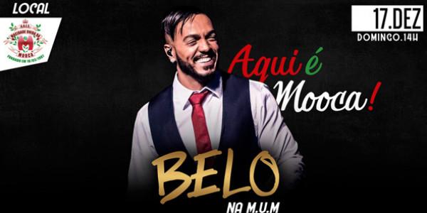 Belo na MuM – Ensaio e Show de Final de Ano