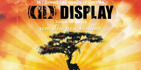 Display - Tour 10 anos | Curitiba