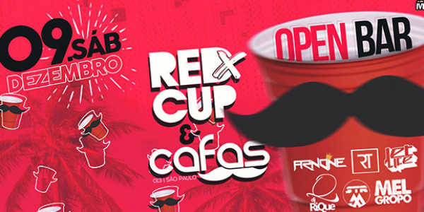 Red Cup Party & Cafas - Open Bar - #AturaOuSurta