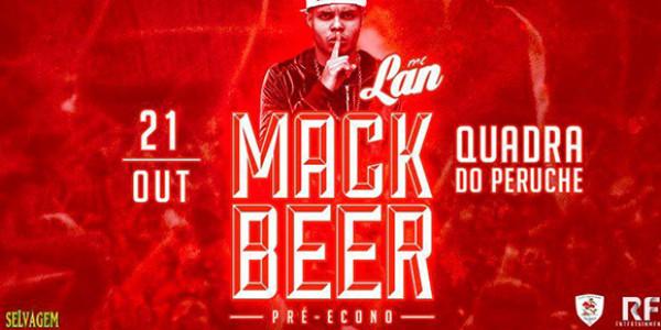 MackBeer Apres. Mc Lan | Pré-Econo Mack