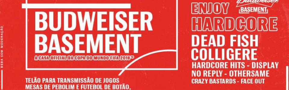 Bud Basement apresenta: Enjoy Hardcore com Dead Fish!