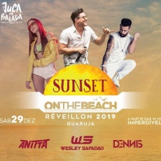 Sunset on the beach Guarujá -  Transporte Open Bar + Ingresso