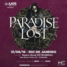 Paradise Lost - Rio de Janeiro