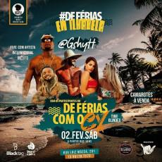 DeFérias em IlhaBela com os participantes do De férias com ex Brasil