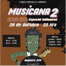 Musicana 2- Especial Halloween(open bar)