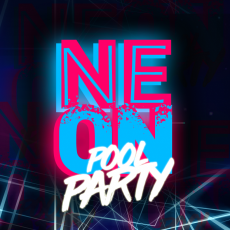 Neon Pool Party