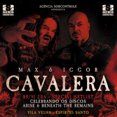 Max & Iggor Cavalera - 89/91 - Era Setlist