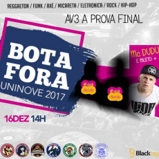 Bota Fora Uninove – AV3 A PROVA FINAL