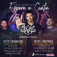 """Show de Lançamento do EP """"Espere e Confie"""" - Lírios do Vale"""