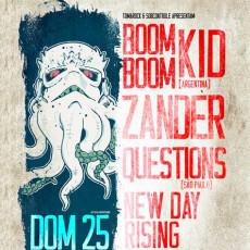 Boom Boom Kid / Zander / Questions / N.D.R - Rio de Janeiro