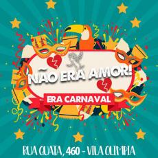 Não Era Amor Era Carnaval