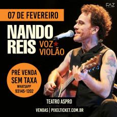 """Nando Reis """"Voz e Violão"""" - Osasco/SP"""