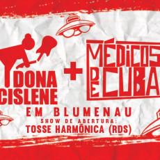 Dona Cislene e Médicos de Cuba em Blumenau