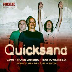 Quicksand - Rio de Janeiro