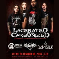 Lacerated And Carbonized no Rio de Janeiro