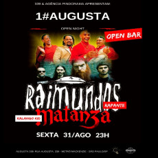 Augusta open Night com Raimundos e Matanza cover