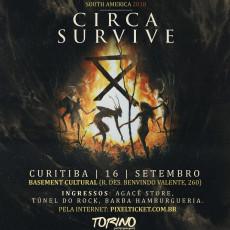 Circa Survive em Curitiba